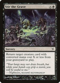 Stir the Grave, Magic: The Gathering, Betrayers of Kamigawa