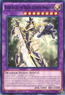 Buster Blader, the Dragon Destroyer Swordsman, YuGiOh, Structure Deck: Yugi Muto