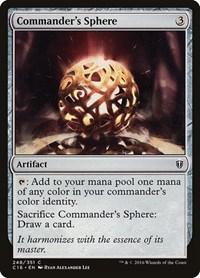 Commander's Sphere, Magic: The Gathering, Commander 2016