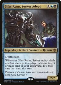 Silas Renn, Seeker Adept, Magic: The Gathering, Commander 2016