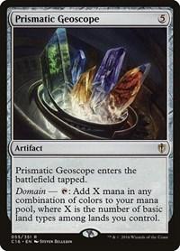 Prismatic Geoscope, Magic: The Gathering, Commander 2016