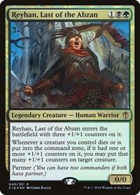 Reyhan, Last of the Abzan, Magic: The Gathering, Commander 2016