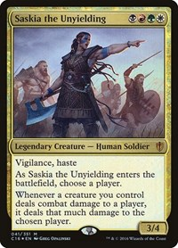 Saskia the Unyielding, Magic: The Gathering, Commander 2016