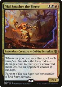 Vial Smasher the Fierce, Magic: The Gathering, Commander 2016