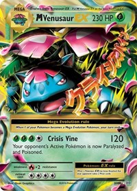 M Venusaur EX, Pokemon, XY - Evolutions