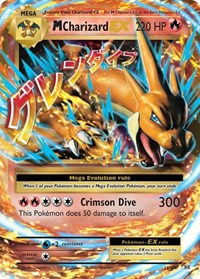 M Charizard EX, Pokemon, XY - Evolutions