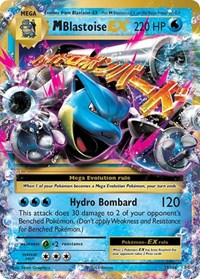 M Blastoise EX, Pokemon, XY - Evolutions