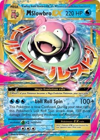 M Slowbro EX, Pokemon, XY - Evolutions