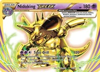 Nidoking BREAK, Pokemon, XY - Evolutions