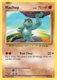 Machop, Pokemon, XY - Evolutions