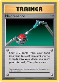 Maintenance, Pokemon, XY - Evolutions
