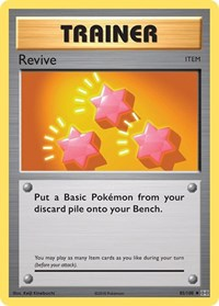 Revive, Pokemon, XY - Evolutions