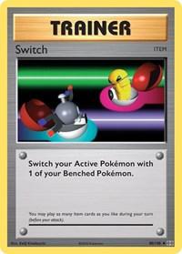 Switch, Pokemon, XY - Evolutions