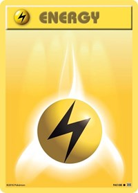 Lightning Energy, Pokemon, XY - Evolutions