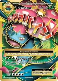M Venusaur EX (Full Art), Pokemon, XY - Evolutions