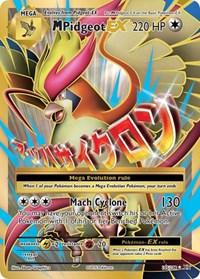 M Pidgeot EX (Full Art), Pokemon, XY - Evolutions