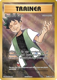 Brock's Grit (Full Art), Pokemon, XY - Evolutions