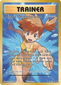 Misty's Determination (Full Art), Pokemon, XY - Evolutions