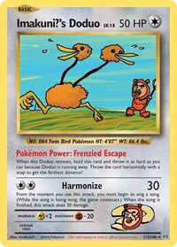 Imakuni's Doduo, Pokemon, XY - Evolutions