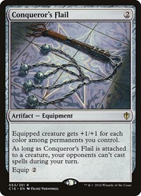 Conqueror's Flail, Magic: The Gathering, Commander 2016