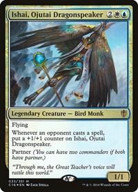 Ishai, Ojutai Dragonspeaker, Magic, Commander 2016