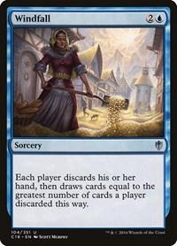 Windfall, Magic: The Gathering, Commander 2016
