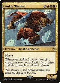 Ankle Shanker, Magic: The Gathering, Commander 2016