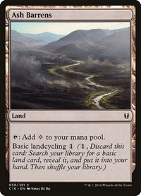 Ash Barrens, Magic: The Gathering, Commander 2016