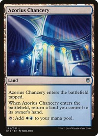 Azorius Chancery, Magic: The Gathering, Commander 2016