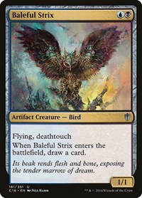 Baleful Strix, Magic: The Gathering, Commander 2016