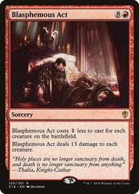 Blasphemous Act, Magic: The Gathering, Commander 2016
