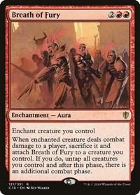 Breath of Fury, Magic, Commander 2016