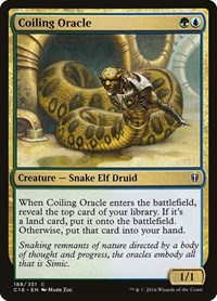 Coiling Oracle, Magic: The Gathering, Commander 2016