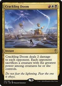 Crackling Doom, Magic: The Gathering, Commander 2016