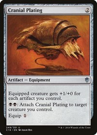 Cranial Plating, Magic, Commander 2016