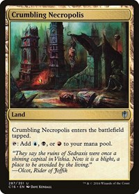 Crumbling Necropolis, Magic: The Gathering, Commander 2016