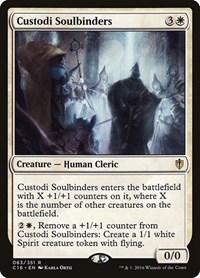 Custodi Soulbinders, Magic: The Gathering, Commander 2016