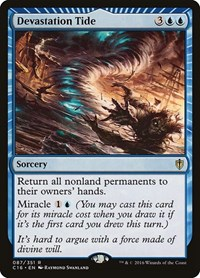 Devastation Tide, Magic: The Gathering, Commander 2016