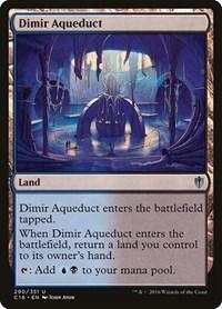 Dimir Aqueduct, Magic, Commander 2016