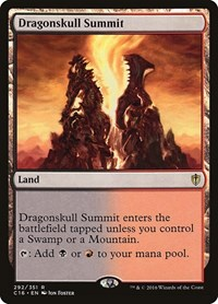 Dragonskull Summit, Magic: The Gathering, Commander 2016