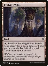 Evolving Wilds, Magic: The Gathering, Commander 2016