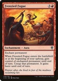 Frenzied Fugue, Magic: The Gathering, Commander 2016