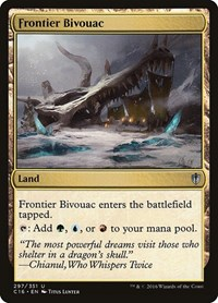 Frontier Bivouac, Magic: The Gathering, Commander 2016