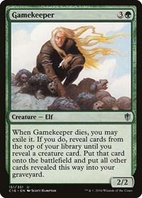 Gamekeeper, Magic: The Gathering, Commander 2016