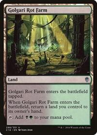 Golgari Rot Farm, Magic: The Gathering, Commander 2016