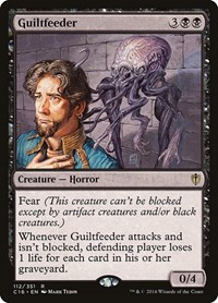 Guiltfeeder, Magic: The Gathering, Commander 2016