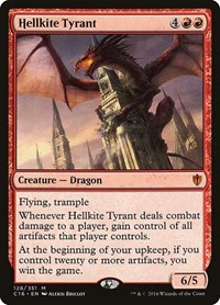 Hellkite Tyrant, Magic: The Gathering, Commander 2016