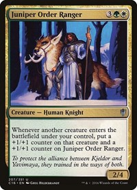 Juniper Order Ranger, Magic, Commander 2016