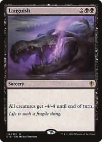 Languish, Magic: The Gathering, Commander 2016