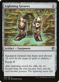 Lightning Greaves, Magic: The Gathering, Commander 2016